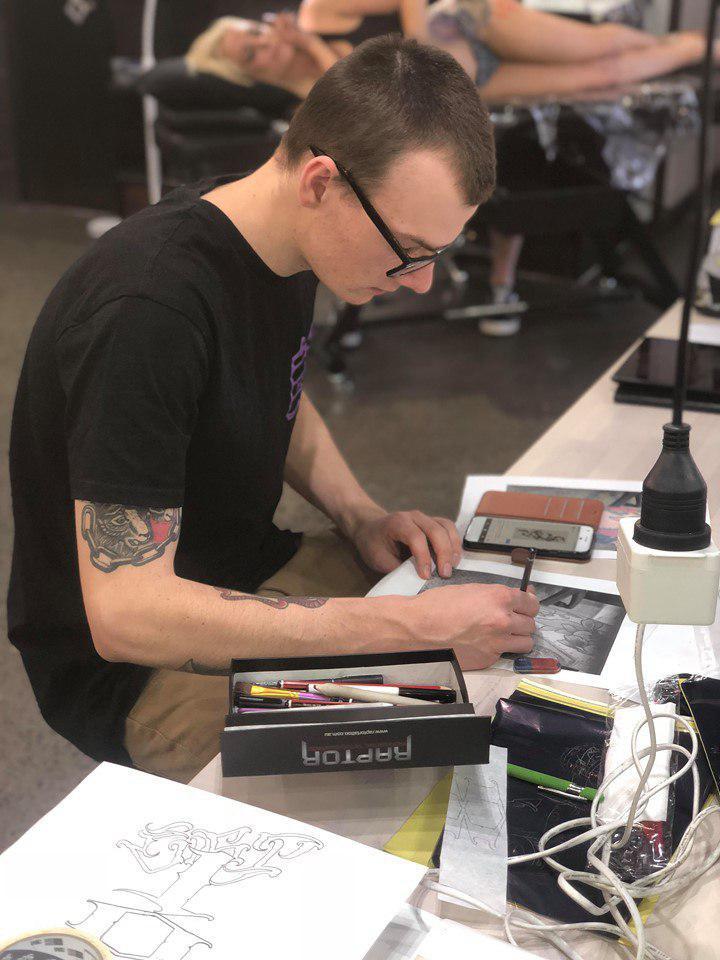 Sam Irvine tattoo artist